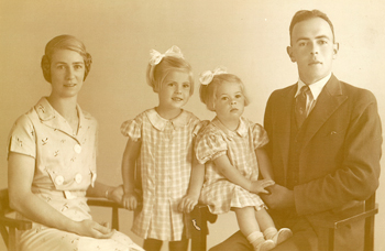 Old family portrait photograph (not perfect, but you get the idea)